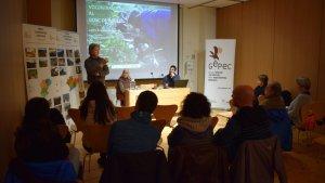 El Museu de la Vida Rural la presentació de la memòria i una xerrada sobre la primera edició del projecte Voluntariat Boscos Mediterranis.