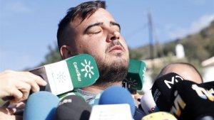 El pare de Julen va atendre a la premsa i va denunciar lentitud dels treballs de rescat