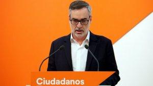 El secretari general de Cs, José Manuel Villegas