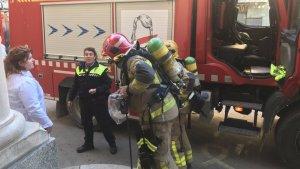 Els Bombers han trobat una dona gran sense vida en un incendi a Figueres