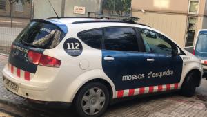 Els joves han estat traslladats als jutjats de Santa Coloma en cotxes dels Mossos.