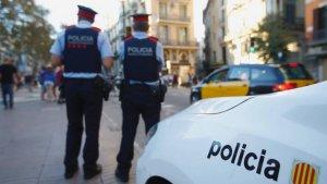 Els Mossos d'Esquadra ha detingut únicament als dos menors de 14 anys