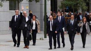 Els presos polítics no aniran esposats al judici