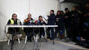 Els treballs de rescat segueixen sense descans després d'onze dies de la caiguda de Julen al pou