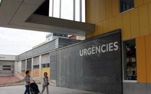 Entrada de les Urgències de l'Hospital Parc Taulí de Sabadell