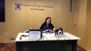 Estela Martín, presidenta de la comissió de mediació i secretària de l'ICAT