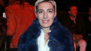 Eugenia Ortiz en el desfile de Miguel Marinero en la Mercedes- Benz Fashion Week Madrid.
