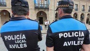 Imagen de archivo de la Policía Local de Avilés.