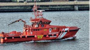 Imagen de archivo de un barco de Salvamento Martítimo en A Coruña