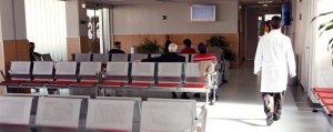 Imagen de archivo de una sala de espera