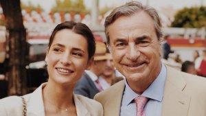Imagen de Carlos Sainz junto a su hija