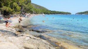 Imagen de la playa de Formentor de Mallorca