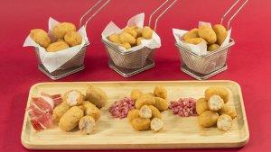 Imagen de surtido de recetas de croquetas de jamón de Mercadona