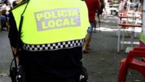Imatge d'arxiu de la Policia Local de Xàtiva