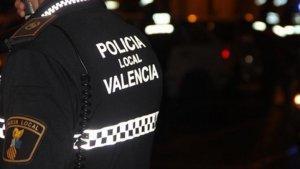 Imatge d'arxiu de la policia local