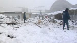 Imatge de la zona de l'accident a Ucraïna