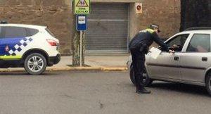 Imatge d'un policia local de Solsona