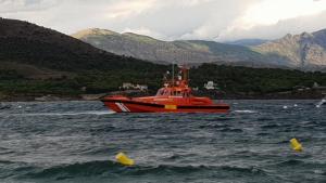 Imatge d'una embarcació de Salvament Marítim