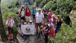 Imatge d'una sortida del Club Excursionista Salouenc