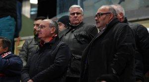 Joan Oliver, durant el darrer partit del CF Reus.