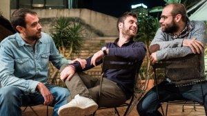 Joel Díaz, Andreu Juanola i Manel Vidal, responsables de La Sotana.
