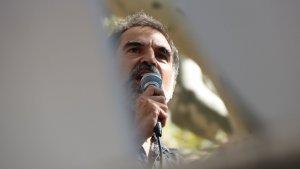 Jordi Cuixart, en una concentració a Barcelona