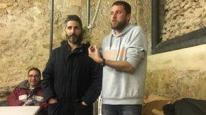 Joserra Márquez i Jorge Herrero compartiran el càrrec de cap de colla dels Castellers d'Altafulla.