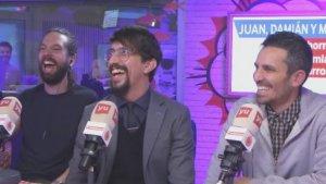 Juan, Marron y Damián en 'Yu'