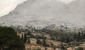 La nieve empolvorará zonas donde no es frecuente ver nevar