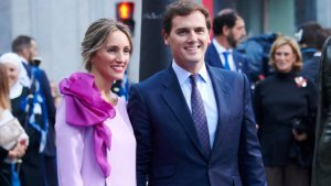 La pareja durante los premios Princesa de Asturias de este 2018
