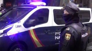 La Policia Nacional ha detingut tres homes a Barcelona, Tarragona i Saragossa