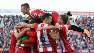 La temporada passada, el Girona va derrotar el Reial Madrid a Montilivi amb dianes de Cristhian Stuani i Portu.