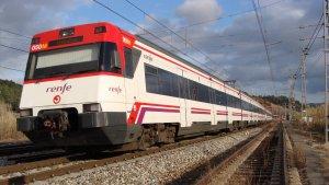 La via del tren genera soroll tan durant el dia com durant la nit