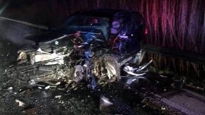 L'accident s'ha produït a primera hora del matí d'avui, dissabte 19 de gener