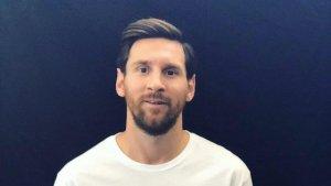 Leo Messi anunciant el nou show del Circ del Sol