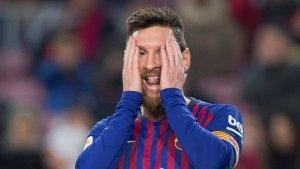 Leo Messi, autor d'un gol i dues assistències aquesta nit al Camp Nou