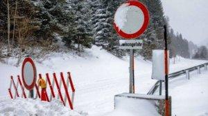 Les fortes nevades dels últims dies han provocat molts problemes als Alps