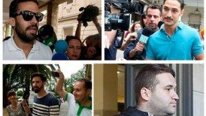 Los cuatro miembros de 'La Manada' acusados por el caso de Pozoblanco