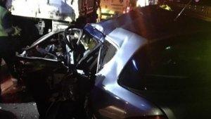 Los dos heridos graves han tenido que ser excarcelados de sus vehículos