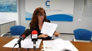 Mercè Dalmau a l'Ajuntament de Cambrils