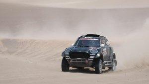 Nani Roma, durant la sisena etapa del Ral·li Dakar 2019