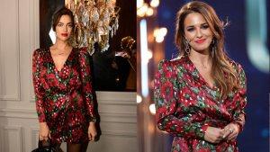 Paula Echevarría e Irina Shayk con el mismo vestido de la firma The Kooples