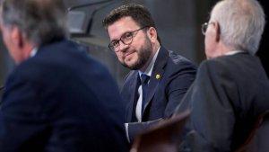 Pere Aragonès, sempre vinculat a ERC