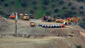 Pese a las dificultades con una piedra la tuneladora ya ha perforado hasta 33 metros