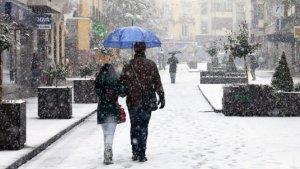 Poden arribar fortes nevades a Catalunya