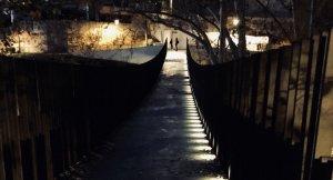 Pont del carrer Salmerón a Seu d'Ègara