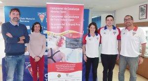 Presentació del campionat català absolut a Terrassa