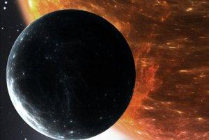Recreación del planeta descubierto por los investigadores asturianos