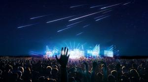 Recrearán una lluvia de estrellas fugaces en eventos importantes