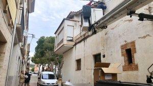 Roda de Berà va començar el canvi de l'enllumenat públic del casc urbà aquest dilluns, 14 de gener.